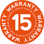 logo 15 year warranty