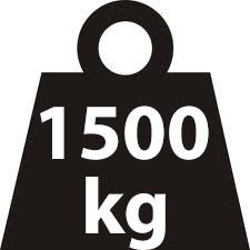 Load rating 1500 kg